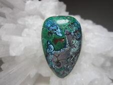 Azurite Malachite Gemstone Cab or Bead (Mined & Made in the USA)