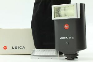 """""""TOP MINT in Box"""" Leica SF20 Shoe Mount Flash 14414 For Leica M6 TTL M7 JAPAN"""