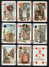 Collectable playing cards Costumes of Alsaciens by Dusserre