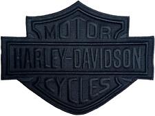 HD Patch Black Bar & Shield LG Harley Davidson Aufnäher Badge Kutte
