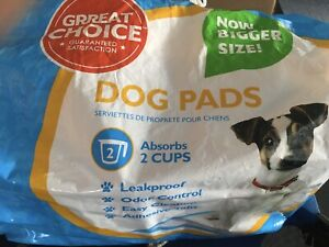 Dog Pads - House Training Pads - bag of 44 unused 23in x 24in