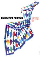 OKTOBERFEST MÜNCHEN 1993 ORIGINAL offizielles A1 Wiesn-Plakat / Poster Munich