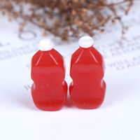 2Pcs 1:12 Dollhouse Miniature Food Ketchup Doll Kitchen Toys Accessories ZY