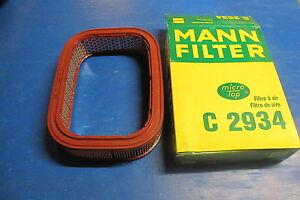 Air Filter Mann Filter For: Honda : Prelude Mk II 1.8 Ex Cut 83- > 87