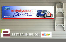 Ford Racing Puma Rallye Sport Banner for Workshop, Garage, Pirelli, Motorsport