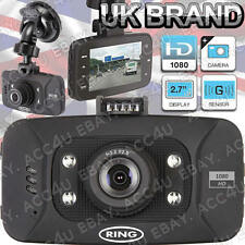 "Ring RBGDC50 In Car 2.7"" Display HD 1080 Dash Cam Camera Video Journey Recorder"