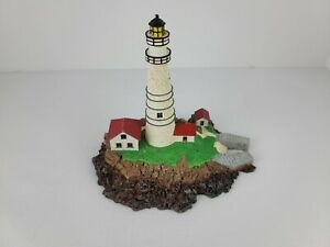 Vintage Danbury Mint Boston Light Little Brewster Island Lighthouse Collectible