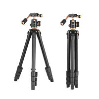 Professional Lightweight Tripod & Ball Head Travel for Canon Nikon Camera K4Z4