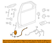 GM OEM Front Door-Lock Actuator Motor 25863021