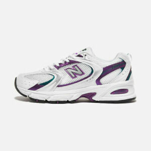 New Balance 530 Trainers White/Purple Shoes