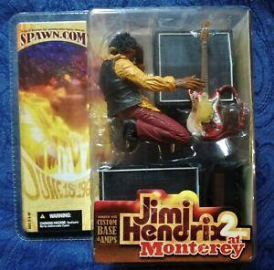 Jimi Hendrix II Action Figure - Factory Sealed - MIB - Monterey Pop Festival