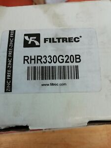 Filtrec hydraulic oil filter rhr330g20b