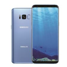 New Samsung Galaxy S8 SM-G950F 64GB Coral Blue Unlocked No Signal/Network In UK