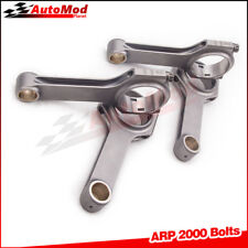 For Ford Duratec Mazda MZR 2.3 154.79mm Connecting Rod Conrod ARP 2000 4pc AMD