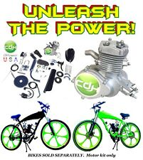 Megapower Complete 2-Stroke 66cc/80cc Motorized Bike Kit For Diy Bicycles