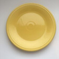"Fiestaware Sunflower Dinner 10.5"" inch Plate Fiesta Yellow HLC"