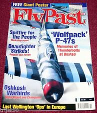 Flypast Magazine 2001 October Boxted ,Hunter,Wellington.Spitfire,Avro Vulcan