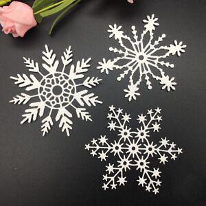 Snowflake Metal Cutting Die Scrapbooking Embossing Paper Dies Craft  Card Making