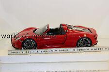 Minichamps 110062435 Porsche 918 Spyder 2013 Red 1:18 NEW ORIGINAL PACKAGING