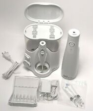 Waterpik Dental Water Flosser Ultra Plus And Cordless Pre-Owned with 4 New Tips