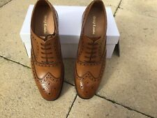 MENS LOAKE TAN LEATHER SHOES - SIZE UK 9F