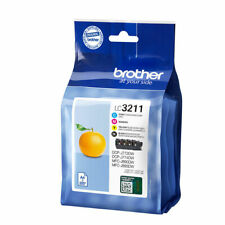 Brother LC3211BK/C/M/Y 4 Colour Genuine Ink Cartridge for MFC-J890dw MFC-J895dw