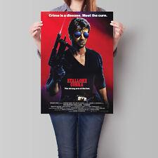 Cobra Movie Poster 1986 Film Promo Sylvester Stallone 16.6 x 23.4 in (A2)
