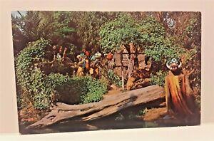 Vintage Disneyland Anaheim Postcard –  Jungle Cruise - Headhunter Country