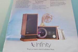 Infinity Monitor Junior Prospekt