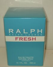 Ralph Fresh  Perfume  Ralph Lauren for Women 5.1oz/150 ml EDT - XL Size -Sealed