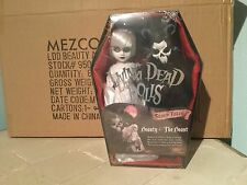 LIVING DEAD DOLL PRESENTS  BEAUTY & THE BEAST FIGURE SET BY MEZCO  BNIB SEALED
