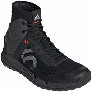 Five Ten Trailcross Mid Pro Men's Flat Shoe: Black/Gray Two/Solar Red 8.5