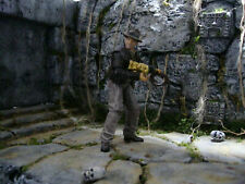 Indiana Jones Raiders of the Lost Ark Custom Built Jungle Temple Scene Diorama