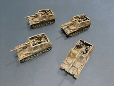 Flames of War German Hummel Lot X4 Pro-Painted  15mm Fow