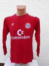 FC Bayern München Trikot 1986/87 adidas Commodore M S Heim Jersey Shirt Camiseta