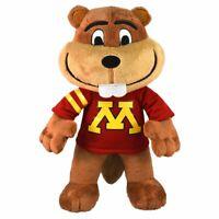 """Minnesota Golden Gophers Goldy 10"""" Mascot Plush Figure - Bleacher Creatures"""