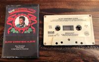 Elvis' Christmas Album Elvis Presley Music Cassette Tape 1985