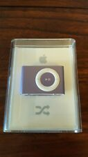 RARE ~ Apple iPod Shuffle Purple 1 GB New Sealed
