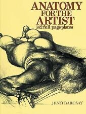 Anatomy for the Artist by Jen� Barcsay (1993, Hardcover)