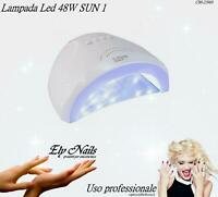 Lampada UV Led 48W SUN 1  Ricostruzioni Unghie Mani Piedi Fornetto Nail Art