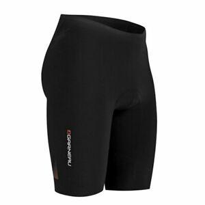 Louis Garneau Men's Tri Elite Course Shorts - Black - Sizes M, L (Runs small)