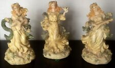 3 BOUGEOIRS ANGES ROMANTIQUES