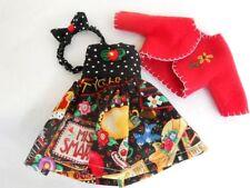 """ME Doll Dress Coat Bow Set For 10/"""" Tonner Ann Estelle Patsy"""