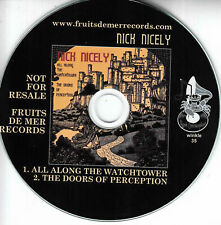 NICK NICELY All Along The Watchtower 2018 UK 2-trk promo test CD