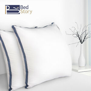 BedStory 2x Kopfkissen Hotel Kissen 3000g 80x80x22cm Microfaser CertiPUR-US