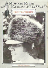 Missouri River - Men's Re-enactment Free Trapper Hat Pattern