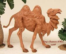 "FONTANINI DEPOSE ITALY 5"" STANDING CAMEL NATIVITY VILLAGE ANIMAL 52544 NEW"