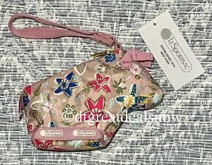 NEW LeSportsac LIMITED Oxen Charm Pouch 3600 F882 Cheerful Ox