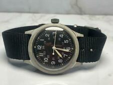 VINTAGE 1969 BENRUS MIL-W-46374 MILITARY WATCH