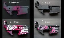 2pk ADHESIVE Camouflage Airbrush Spray Paint Duracoat Gun Stencils ARMY DIGITAL